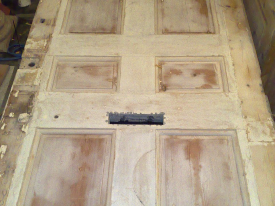 building restoration work